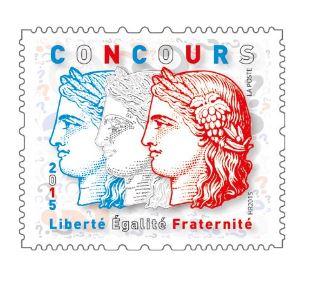 concours timbre poste