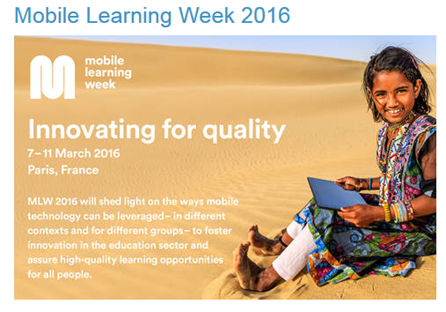 semaine de l'apprentissage mobile
